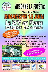 2CV St-Eloi 2010 a Arbonne-la-Foret