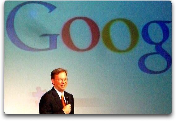 Eric Schmidt - Pdg de Google