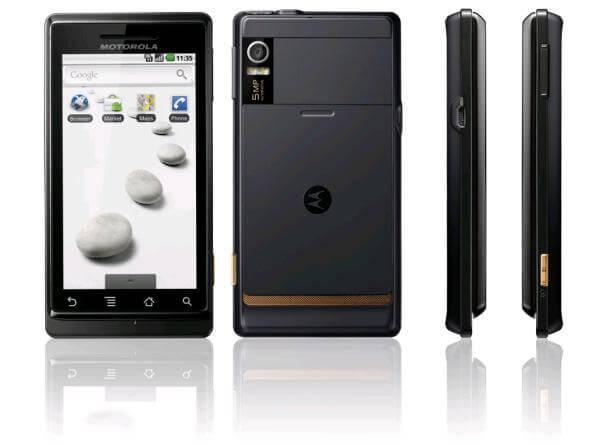 MAJ Motorola Milestone encore ajourné