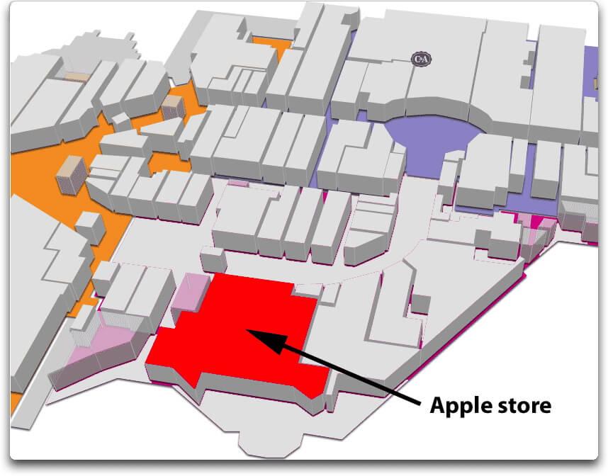 Apple store les quatre temps la defense - Centre commercial les portes du soleil juvignac ...