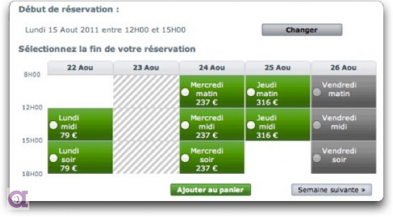 Site internet hotellerie avec r servation de chambres for Reserver avec booking