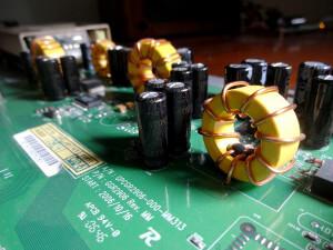 Cisco Linksys SRW2048 capacitors explosion